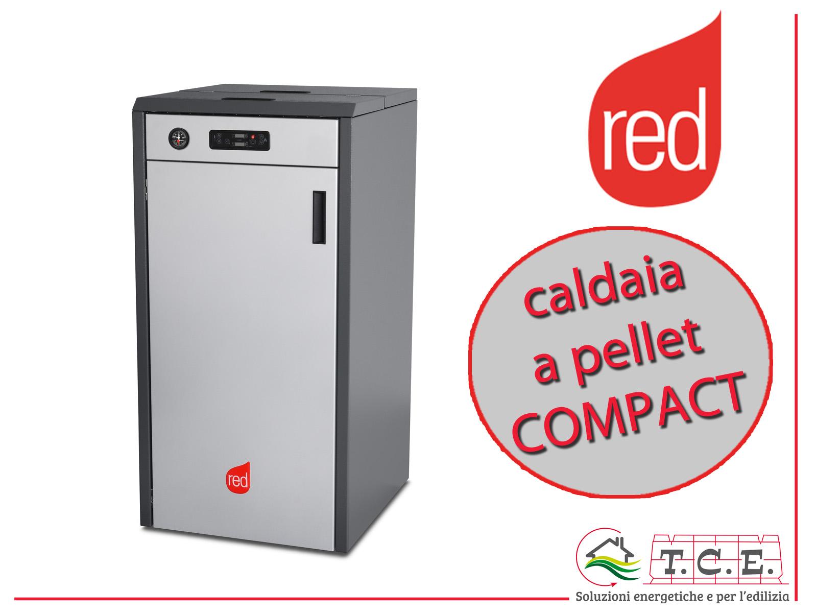 Caldaia a pellet red 365 mod compact 14 18 24 35 45 for Compact 24 pellet